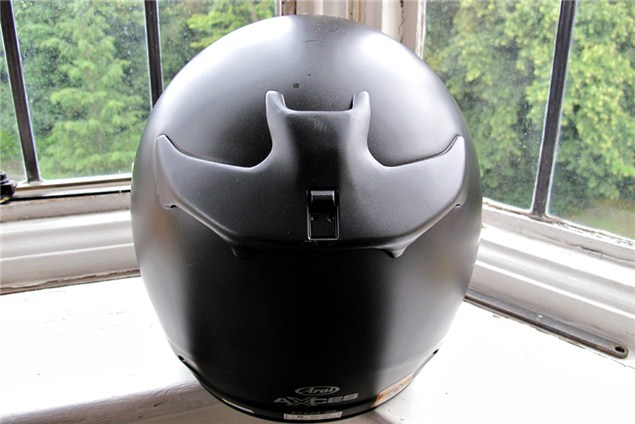 Used Review: Arai Axces helmet