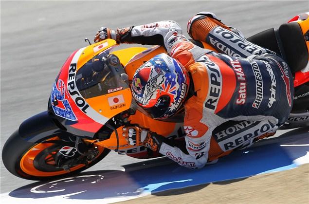 MotoGP 2011: Laguna Seca MotoGP FP3 results
