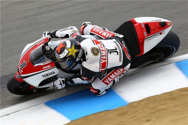 MotoGP 2011: Laguna Seca MotoGP qualifying results
