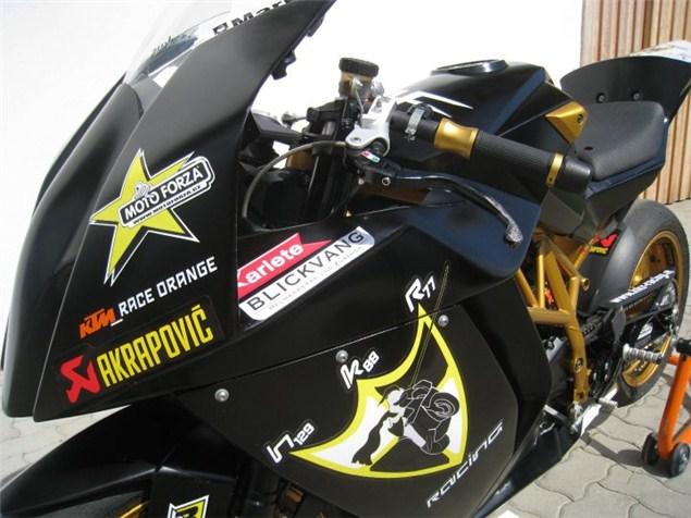 KTM RC8-based RC690 supermono