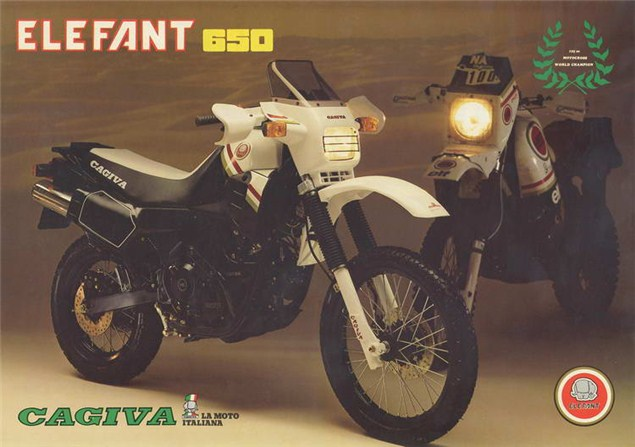 Return of the Cagiva Elefant, but with a twist