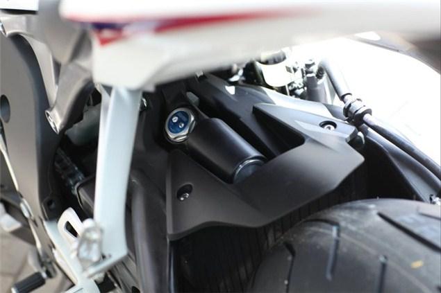 2012 Honda Fireblade leaked