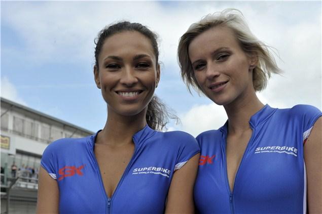 WSB Grid Girl Gallery: Nurburgring 2011
