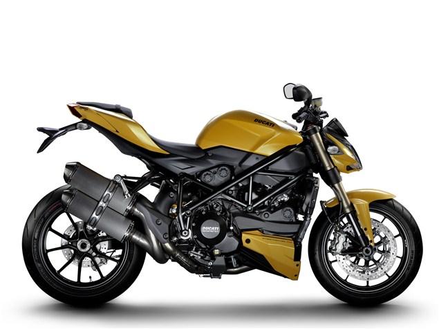 Ducati Streetfighter 848 revealed