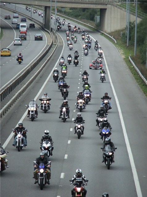 40,000 bikers ride in anti-EU protest