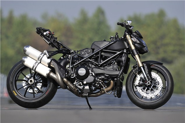 Ducati Streetfighter 848: Track review