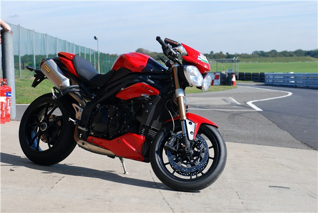 Triumph Speed Triple track tested