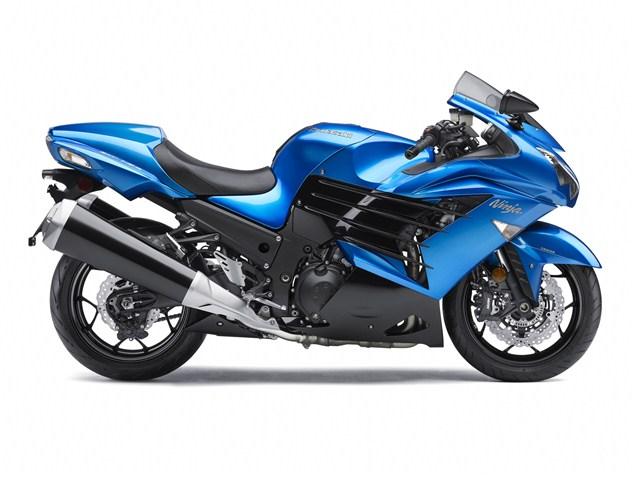 Kawasaki ZZR1400 official image gallery