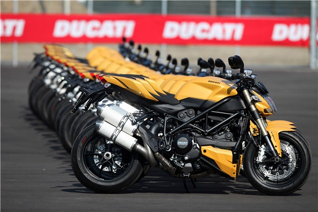 Ducati Streetfighter 848 road test review