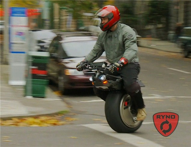Is it a scooter, is it a unicycle? No it's a Ryno