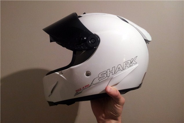 Used: Shark Race-R Pro helmet review