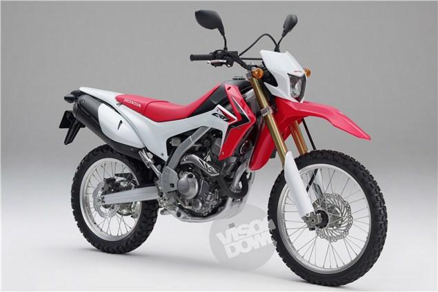 Tokyo: Honda CRF250L