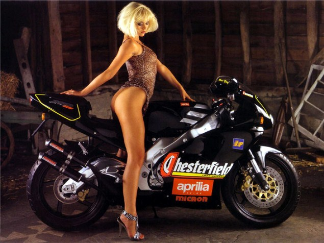 Jo Guest, Aprilia RS250: Two 90s icons