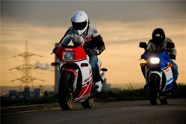 Classic Test: Suzuki RG500 v Yamaha RD500LC