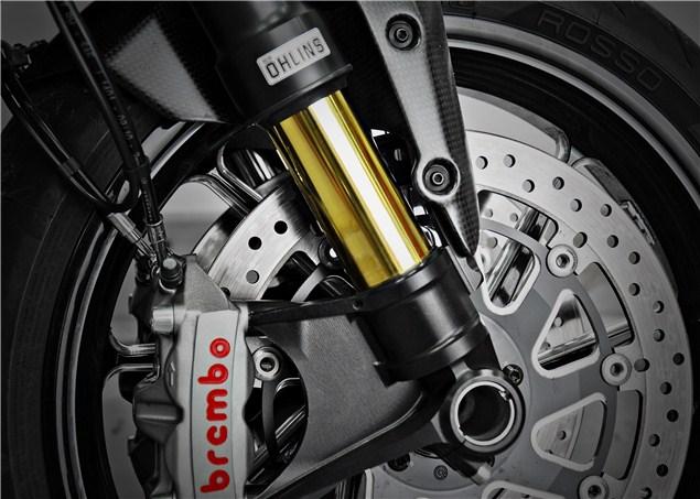 Ducati Diavel gets more Öhlins treatment