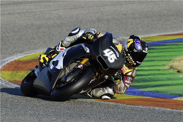 Redding sets unofficial record at Valencia