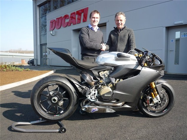 This is what a Ducati 1199RS looks like