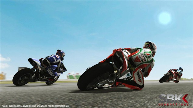 New: SBK Generations videogame