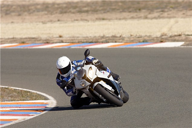 2011 BMW S1000RR vs. 2012 S1000RR track review