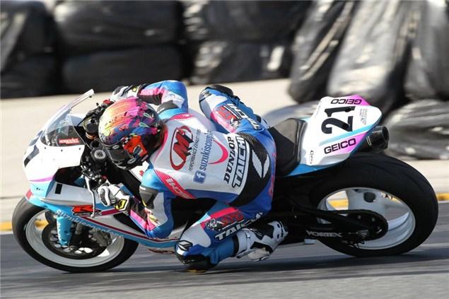 Elena Myers makes Daytona history