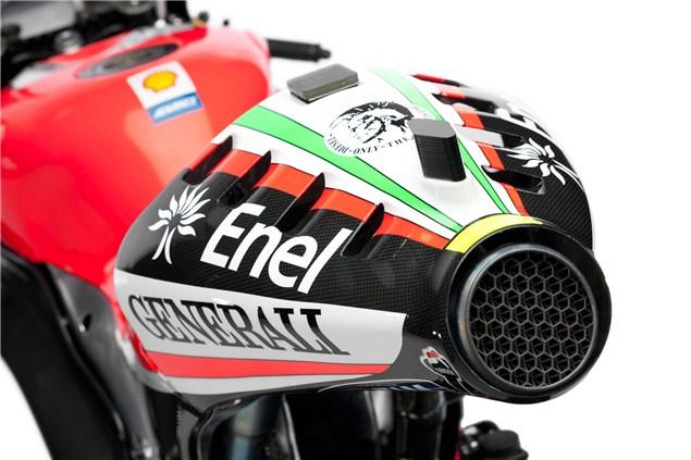 First Look: Rossi's Desmosedici GP12