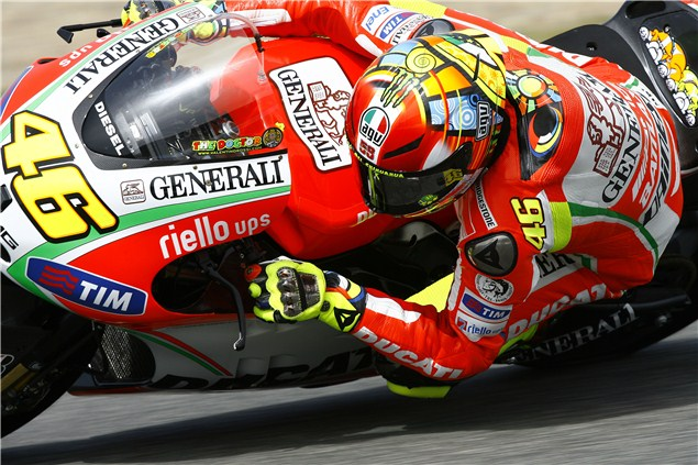 Rossi: No miracle for Ducati at Qatar