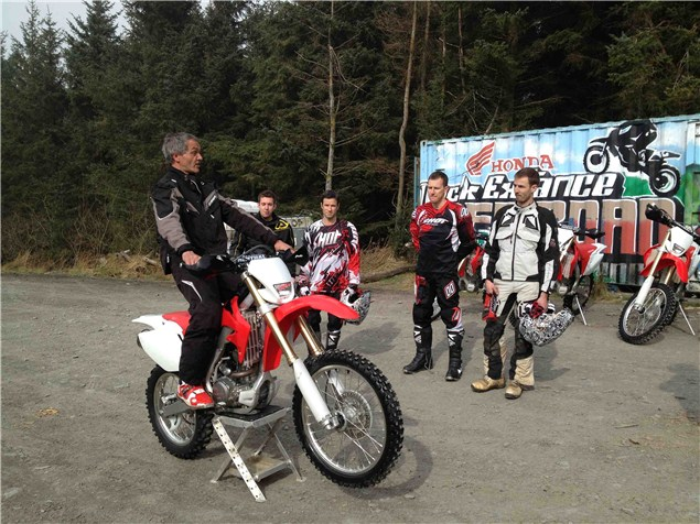 Mick Extance Off Road Motorcycle Experience