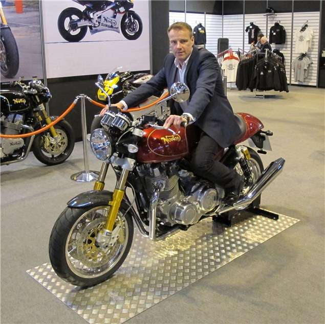 Interview: Norton CEO, Stuart Garner