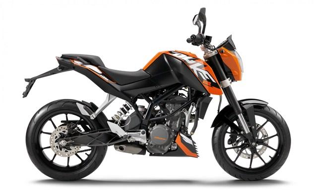 KTM's Duke 200 now in UK dealers