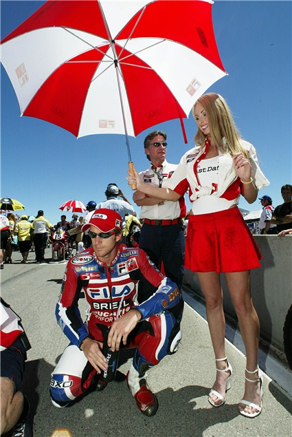 Become a Ducati grid girl at Silverstone