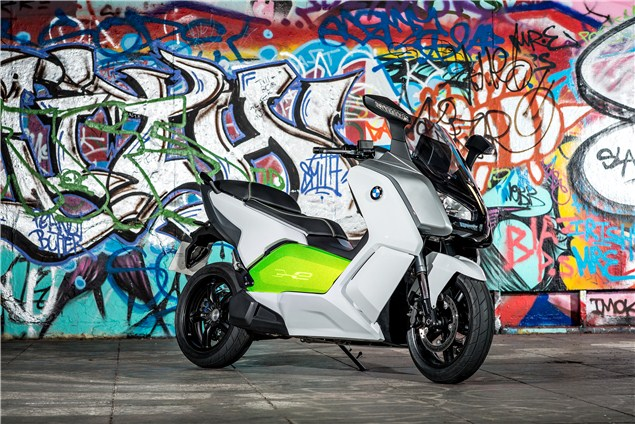 BMW C evolution electric scooter review