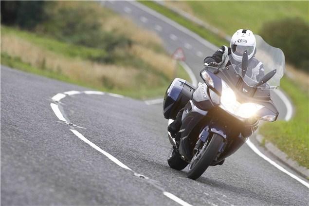 Triumph Trophy 1200 review: UK roads