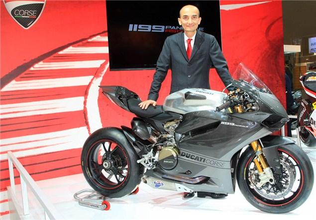Intermot: Ducati unveil 1199RS13