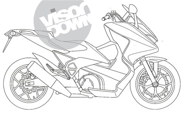 Is this Honda's 1,000cc scooter?