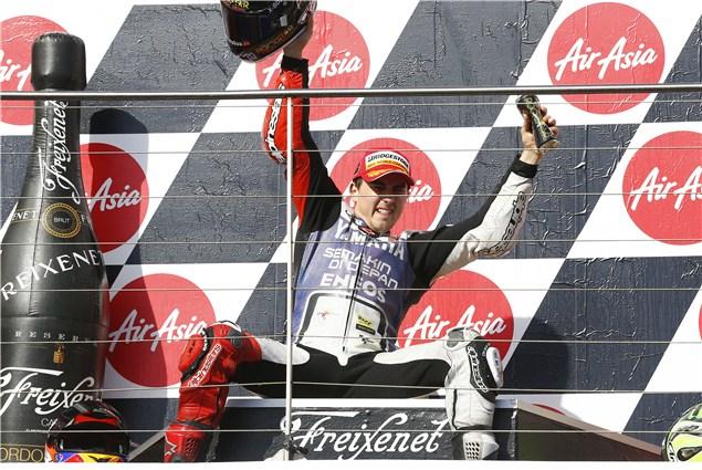 Jorge Lorenzo wins MotoGP world title