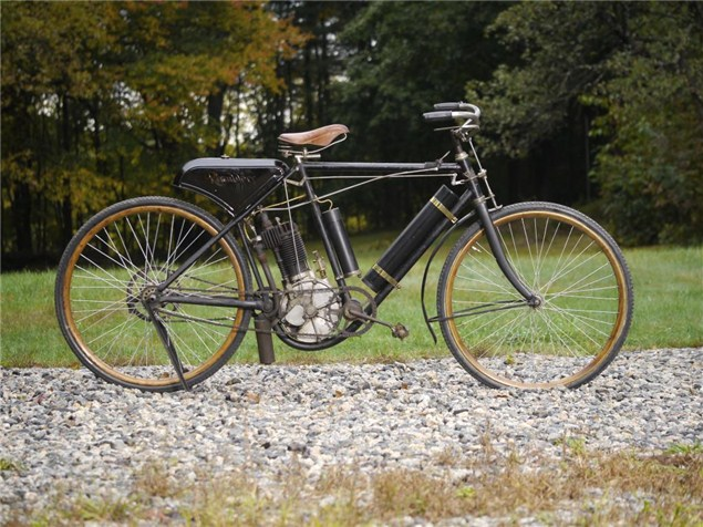 110 year-old motorcycle for sale
