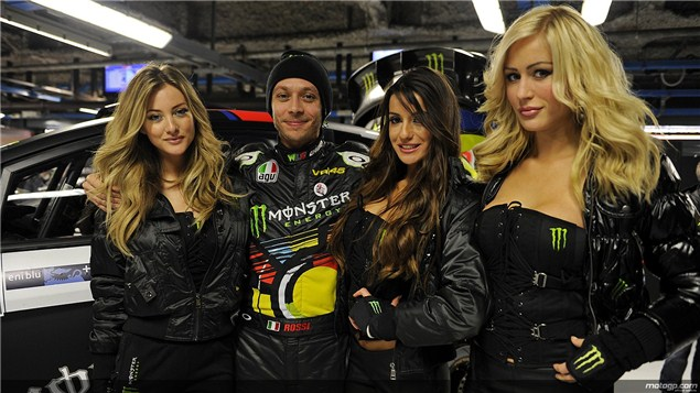 Rossi gets a win!