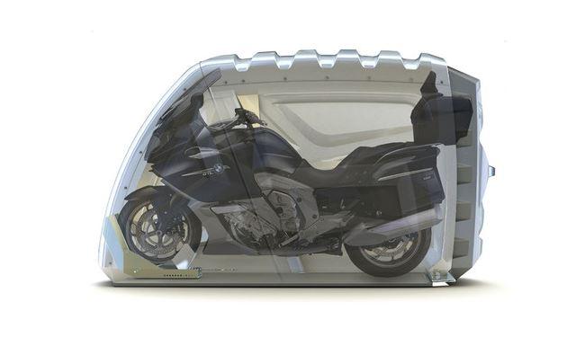 bikeBOX motorcycle garage