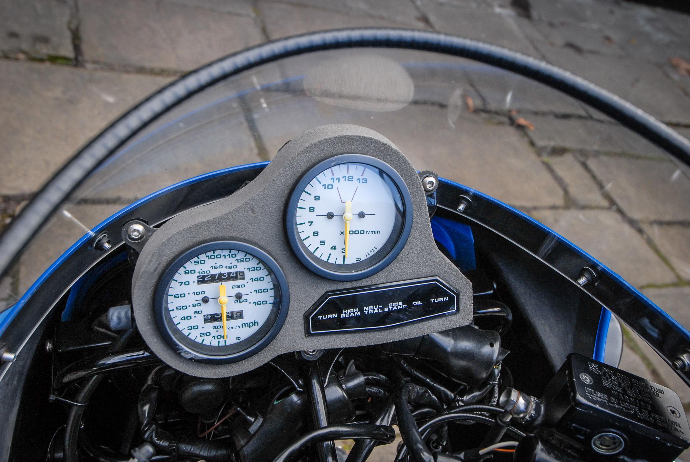 GSX-R750 clocks