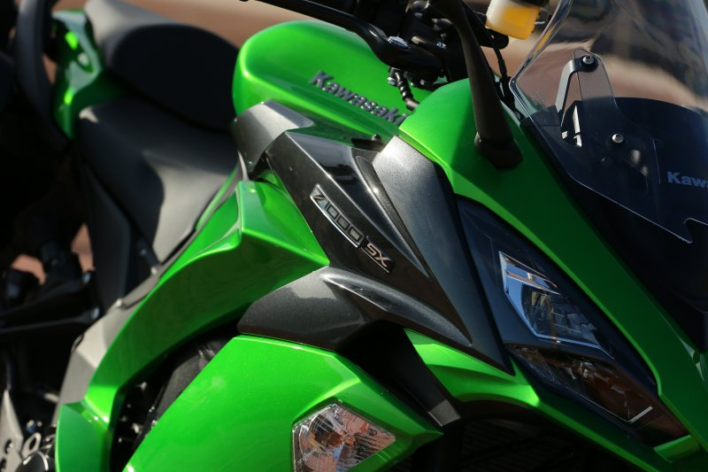 2017 Kawasaki Z1000SX Bodywork