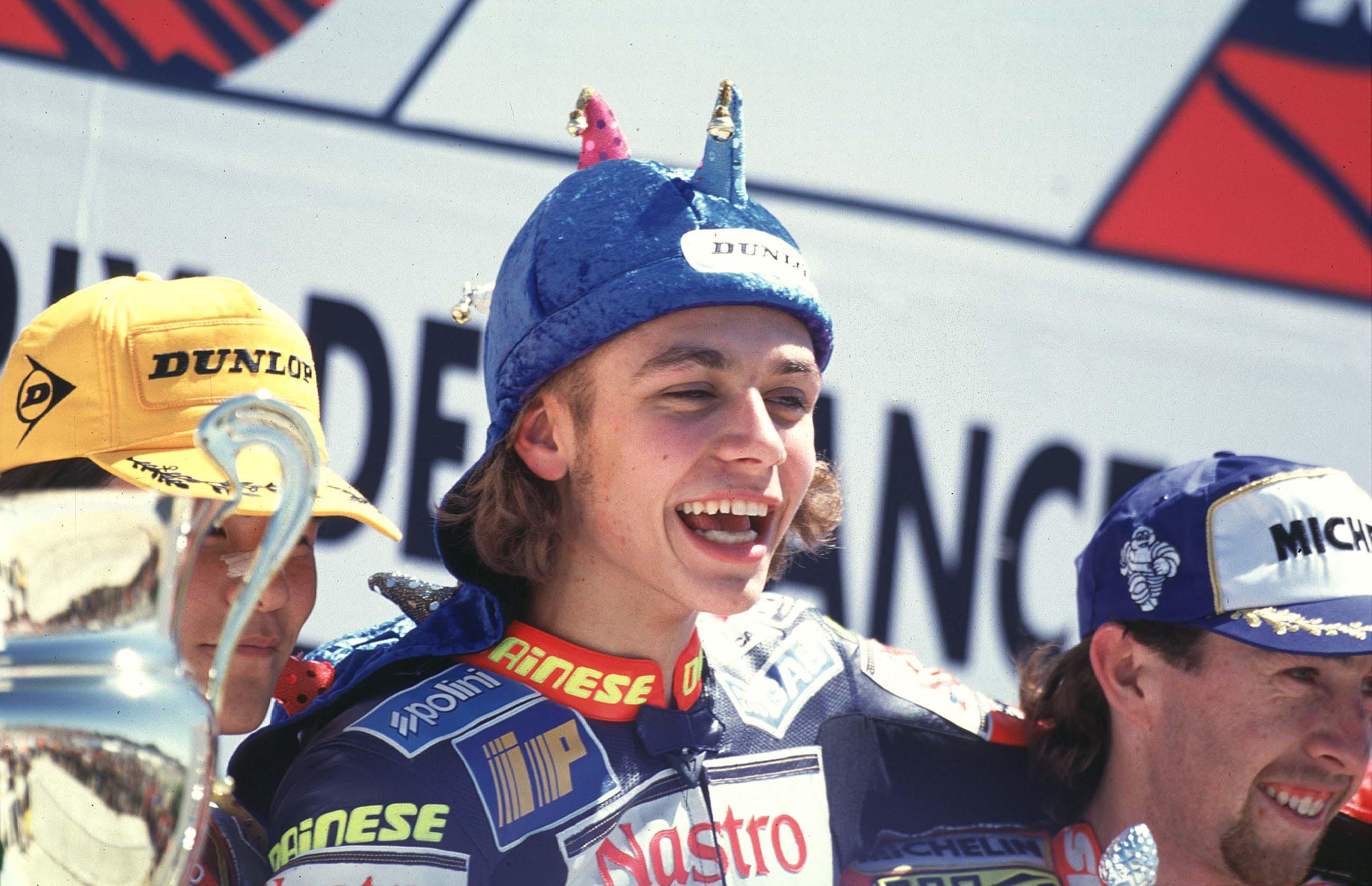 Valentino Rossi, his first World Champio... | Visordown