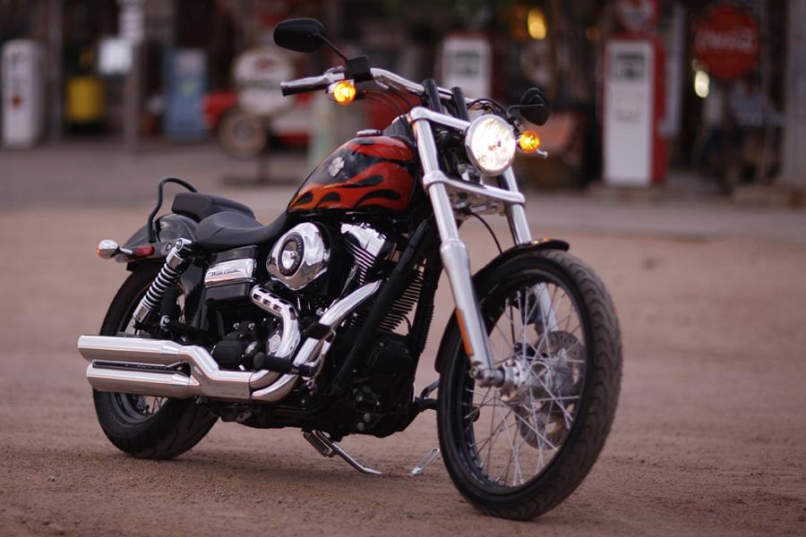 The Snake Harley Davidson Dyna: 2010 Harley-Davidson Dyna Wide Glide