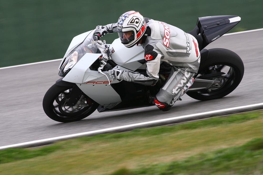first ride: 2008 ktm rc8 | visordown