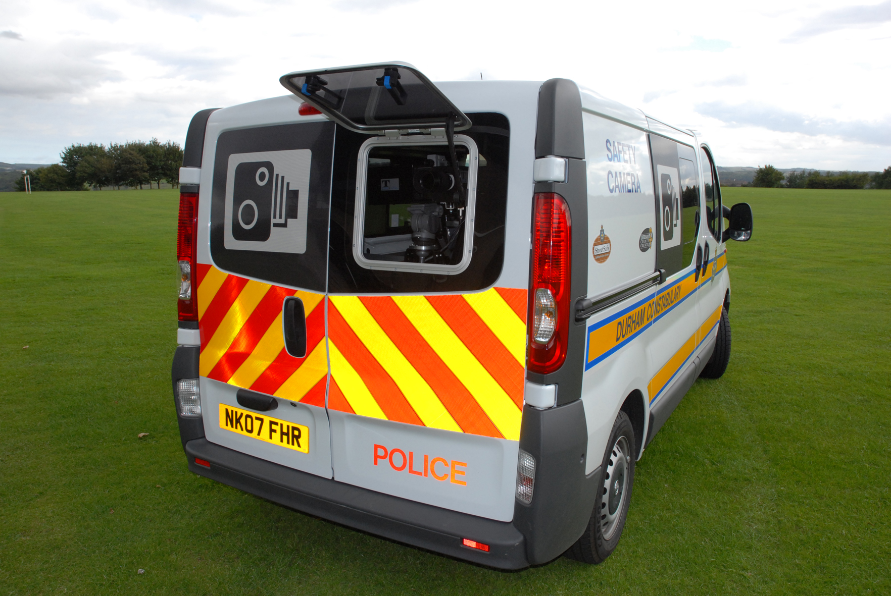93205cb4bc Man fed up with speeding motorists buys Police camera van off eBay and  parks it outside home