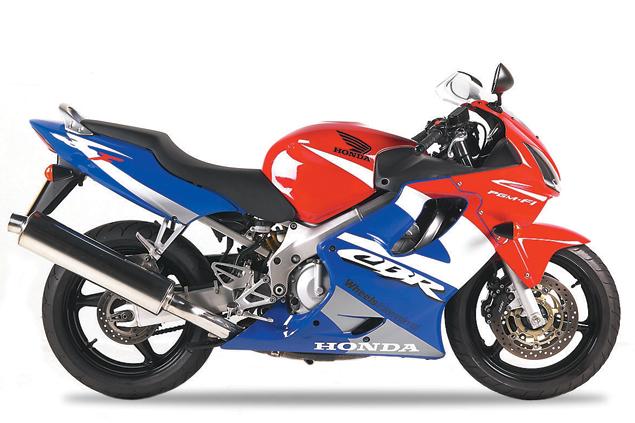 First Ride: 2002 Honda CBR600F | Visordown