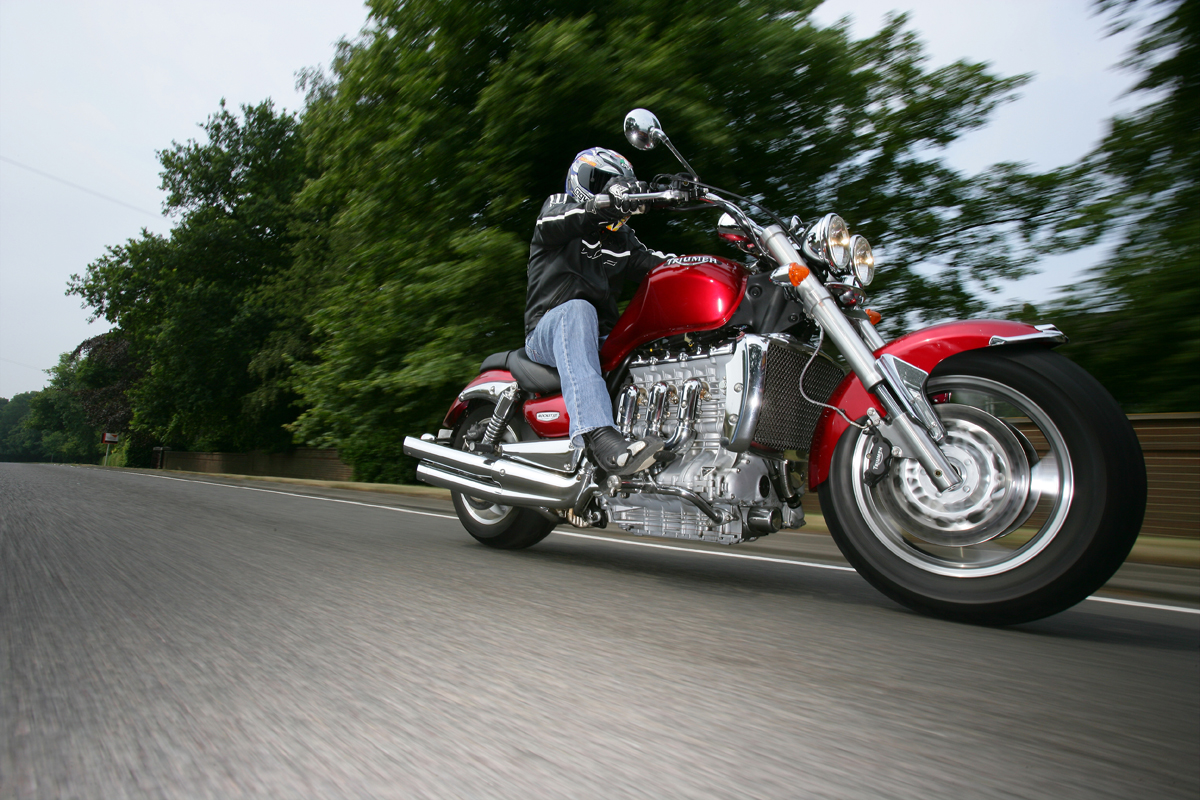 Living with excess: 2006 Triumph Rocket III   Visordown