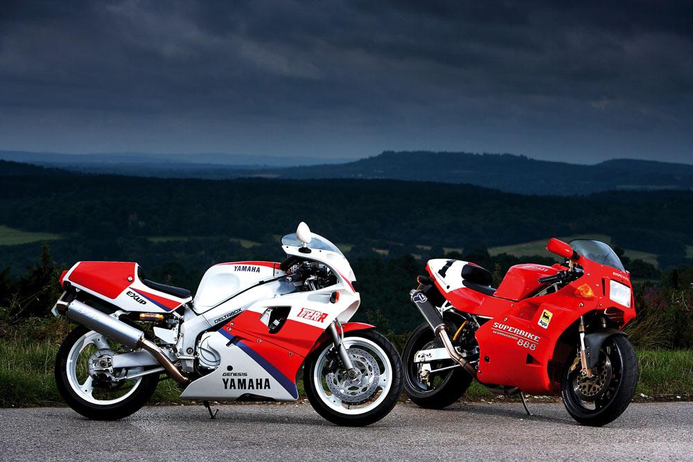 Cl of '93: Ducati 888 SP5 vs Yamaha OW01 | Visordown