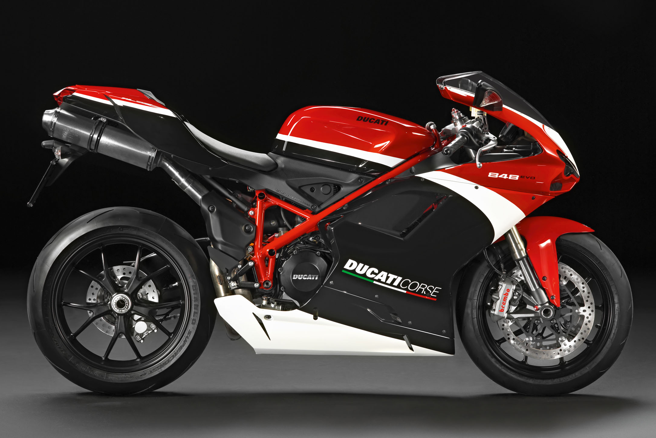 Ducati 848 gets traction control | Visordown
