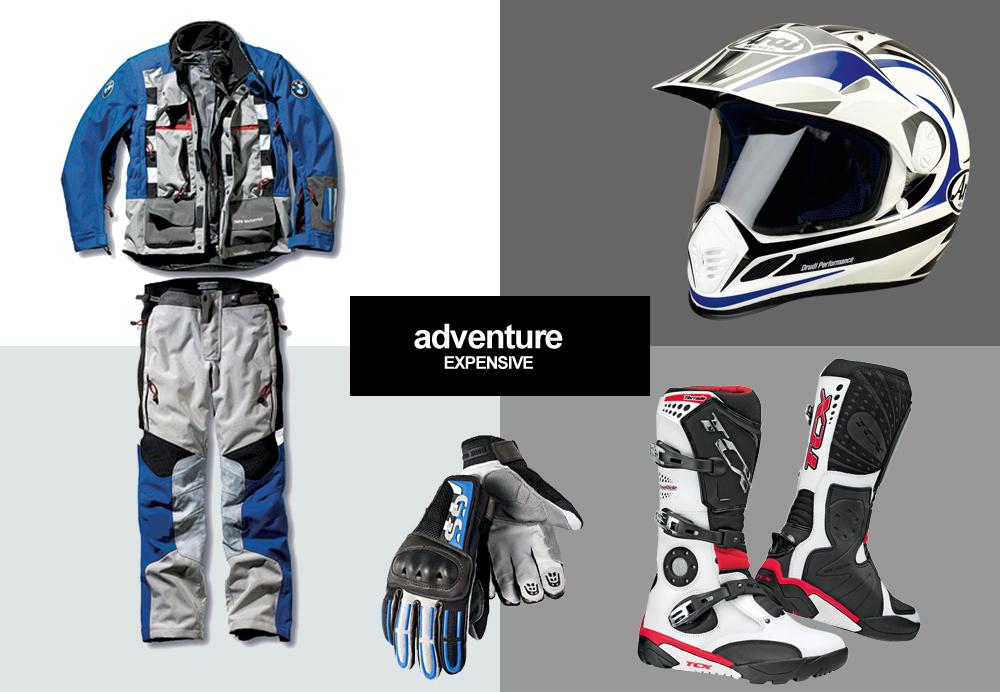 Adventure Riding Gear Budget Amp Expensive Visordown