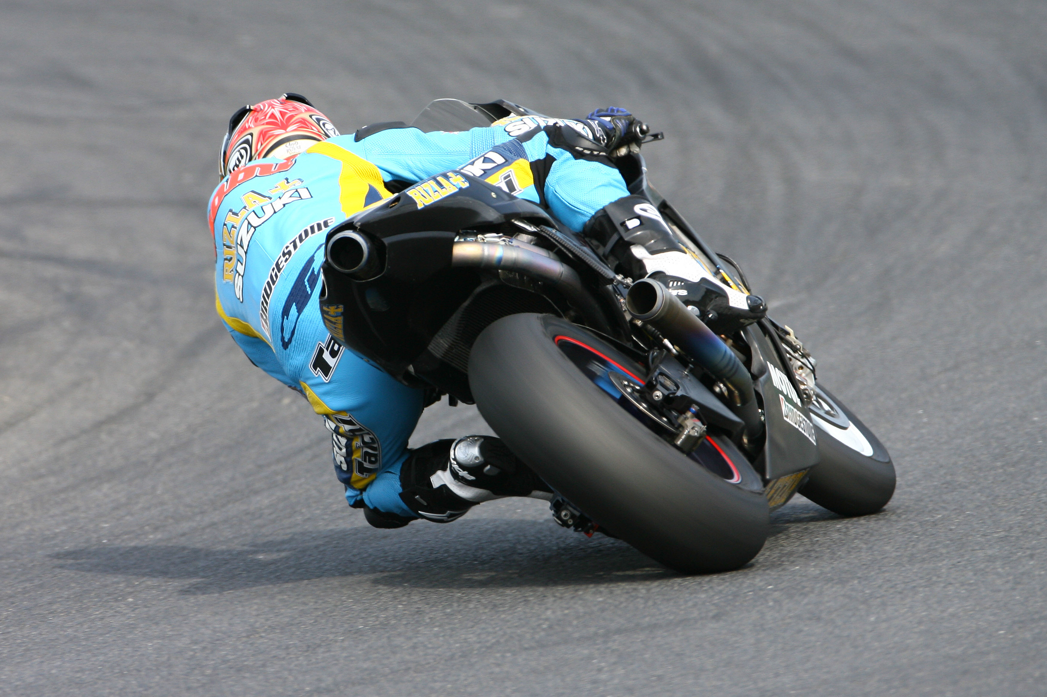 Attractive 2014 Suzuki GSV R MotoGP Spied Testing